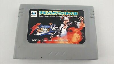The King of Fighters '95 (Sega Saturn, 1997) Japan -- Untested