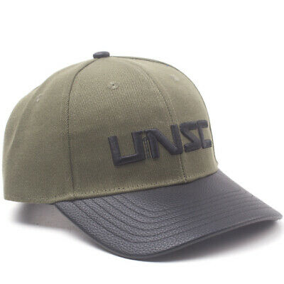 832a485cc9110 HALO BASEBALL CAP UNSC Embroidery Patch Logo new Official Xbox Black ...