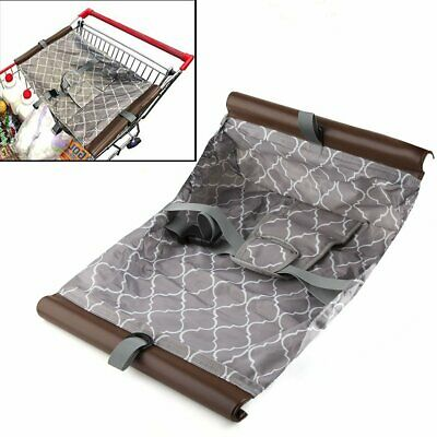 Baby Shopping Cart Cover Toddler Hammock Trolley Pad Push Protection Foldable