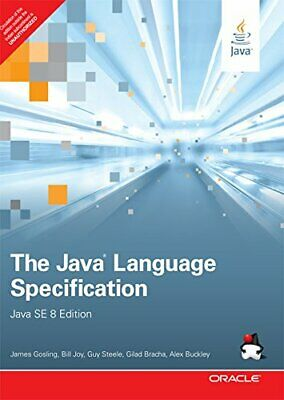 The Java Language Specification, Java SE 8 Edition, 1e Paperback book by Gosling