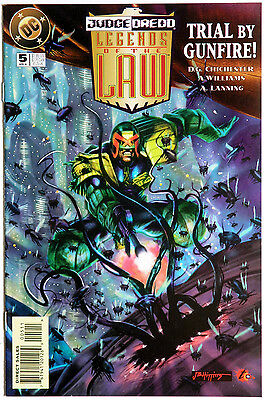 Judge Dredd Legends of the Law #5 DC Comics D.G Chichester Anthony Williams