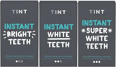 Tint Instant White Brush on Tooth Teeth Whitening Kit - Bright White Super White