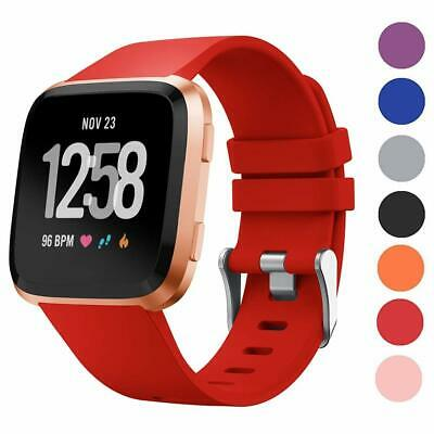 Replacement WristWatch Band for Fitbit Versa Smart Watch Sport Silicone Strap US