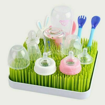 Drying Rack Baby Bottle Twig White Grass Lawn Accessory Countertop Luxury