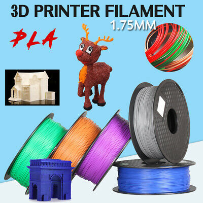 3D Printer Printing Filament ABS PLA PETG 1.75mm 1KG Spool AUS Stock Hot Colour