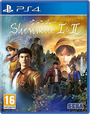 Shenmue I & II (PS4) BRAND NEW SEALED