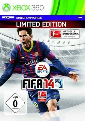 Microsoft Xbox 360 game FIFA 14 Limited Edition boxed  Steelbook