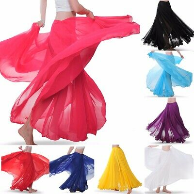 2019 Belly dance Skirt Performance Costumes Full Circle Skirt Long Skirt