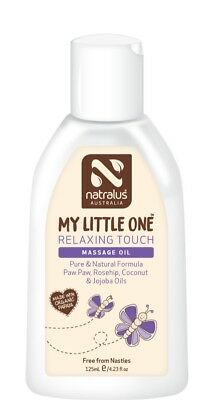 Natralus My Little One Relaxing Touch Massage Oil 125ml, Natural Massage Oil