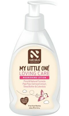 Natralus My Little One Loving Care Nourishing Lotion 200ml, Natural Baby Lotion