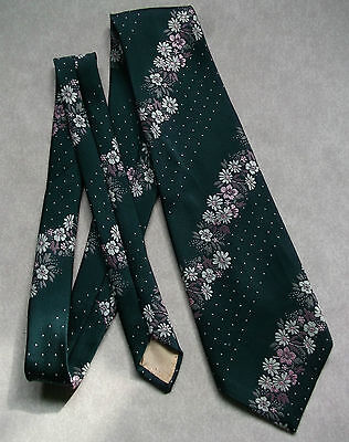 Vintage Tie Mens Wide Necktie Retro Fashion 1970s HARDY AMIES AT HEPWORTHS