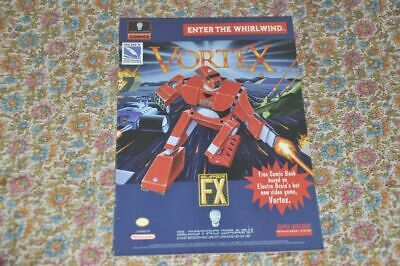 Vortex - Comic Book - Super Nintendo Entertainment System