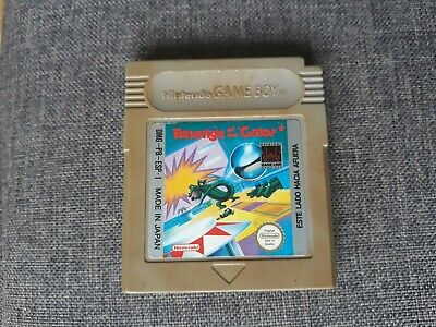 Revenge Of The Gator Pal España Nintendo Game Boy Gameboy Alligator Pinball