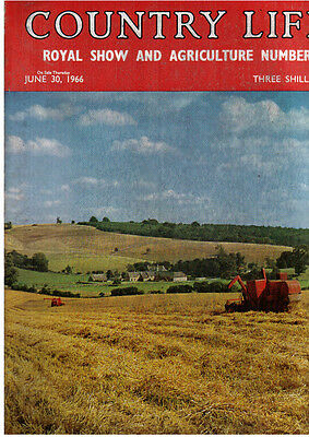 Country Life magazine  30 June 1966  Milton Abbey, Dorset III