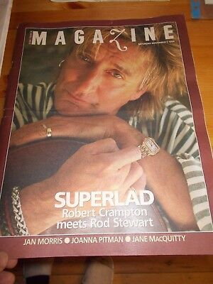 Rod Stewart Times Magazine 1994 SuperLad  The Times Magazine special
