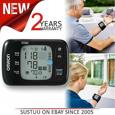 Omron Wrist Blood Pressure Monitor With Bluetooth Connectivity│HEM-6232T-E RS7│