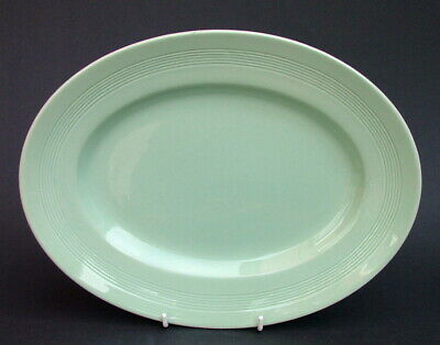 Wood Woods & Sons Beryl Pattern Oval Serving Platter 30cmh x 23cm Looks in VGC