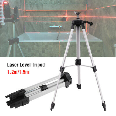 Aluminum Alloy Tripod Adjustable Level Stand For Laser Level Measuring Tools US