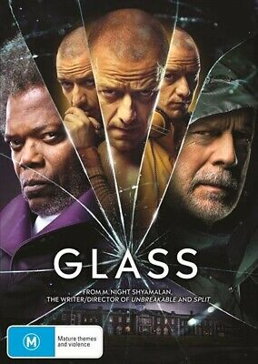 Glass Dvd, Brand New, 2019 Release, Free Post.