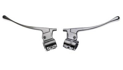 MZ TS ES brake and clutch levers set new with housing