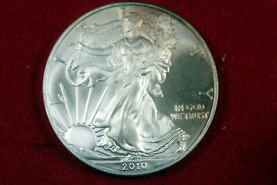 ESTATE FIND 2010  American Silver Eagle  #D12727