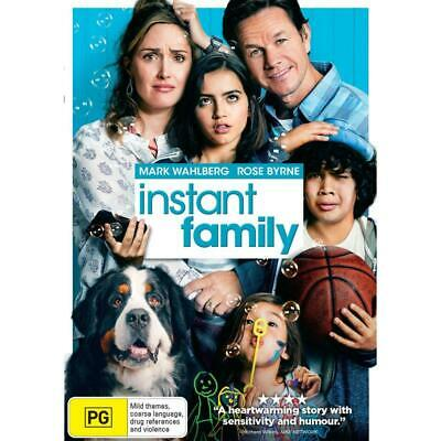 Instant Family Dvd, Brand New, 2019 Release, Free Post, Pre Release