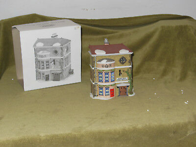 Dept 56 Heritage Village Collection Dickens Series Kings Road Post Office 5801-7