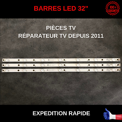 Lbm320P0701-Fc-2 Lb32080 V0 Gj-2K16 Tpt315B5 Barres Led Tv Philips 32Phs5301