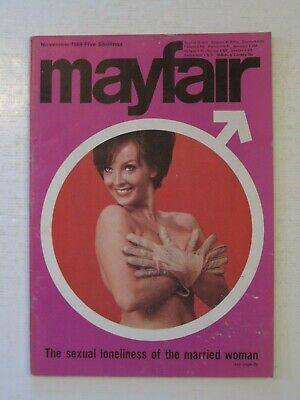 MAYFAIR  November 1966. Vintage Men's Magazine.