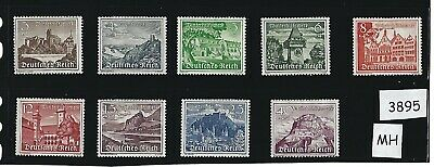 1939 Complete MH stamp set / Winter Relief Fund / Nazi Germany / Third Reich