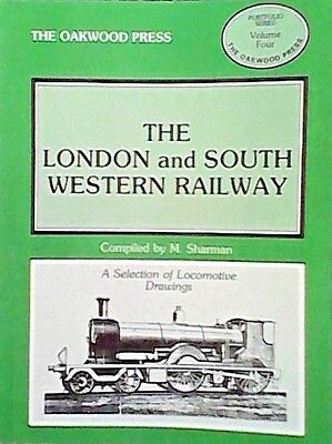 The London and South Western Railway: Locomotive Drawings in 7mm Scale by M....