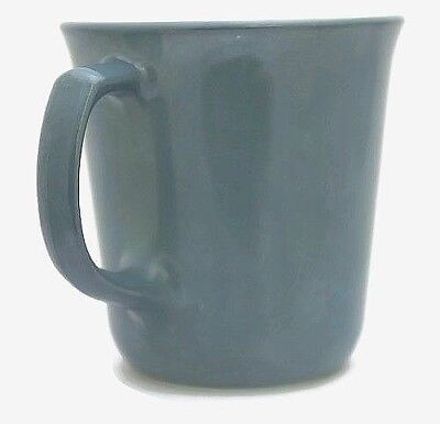Pyrex Coffee Cup/Mug Vintage Slate Blue Milk Glass D Handle Corning, NY New Mint