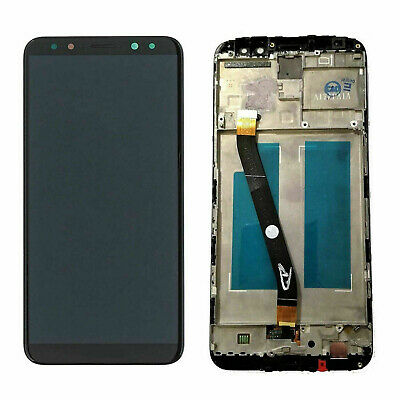Display Lcd Touch Screen Frame Per Huawei Mate 10 Lite Nero