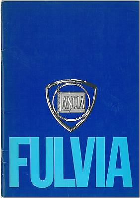 Lancia Fulvia Guide published by the Lancia Motor Club Autumn 1977 in PDF format