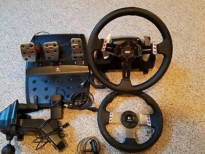 LOGITECH G27 RACING Wheel, Shifter, And Pedals (Great