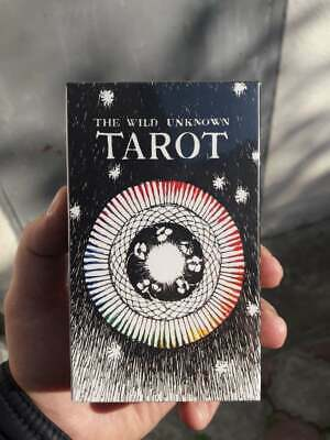 The Wild Unknown Tarot Deck 78pcs Oracle Set Fortune Telling Cards FREE GIFT!!