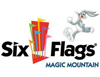 Six Flags Magic Mountain 50% Half Off Admission DAY Ticket 2019