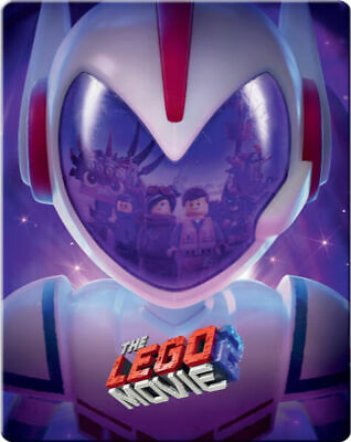 The LEGO Movie 2 3D & 2D -  Limited Edition Blu-ray Steelbook (Pre-Order)