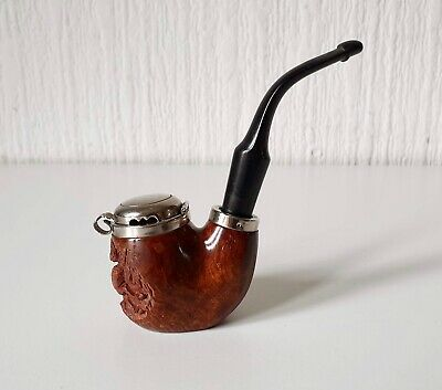 Vintage Mid 20Th Century Red Point Old Briar Smoking Tobacco Pipe