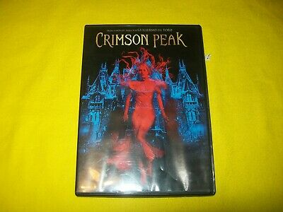 Crimson Peak Dvd Guillermo Del Toro