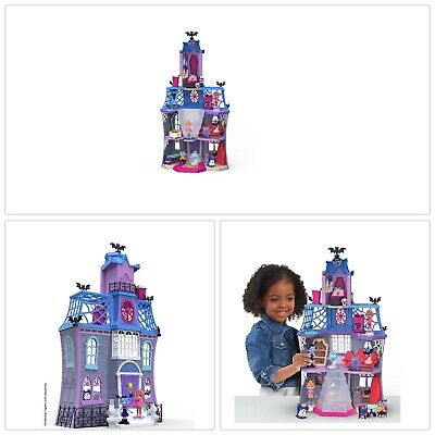Dollhouses Play Sets Multi Color Three Floors Includes Telescoping Bedroom Tower