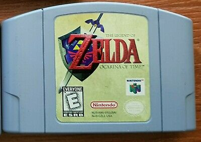 The Legend of Zelda Ocarina of Time Cartridge Game for Nintendo 64 N64