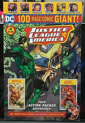 DC 100-PAGE GIANT # 5 Walmart Justice League Of America Wonder Woman