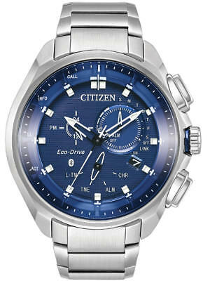 Citizen Men's BZ1021-54L Proximity Pryzm Blue Dial Eco-Drive Watch