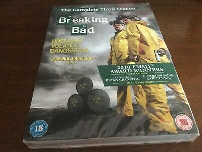Breaking Bad The Complete Fourth Season / Series 4 DVD Boxset New & Sealed