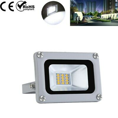 10W LED SMD Floodlight Outside Wall Light Security Flood Lights IP65 Cool white