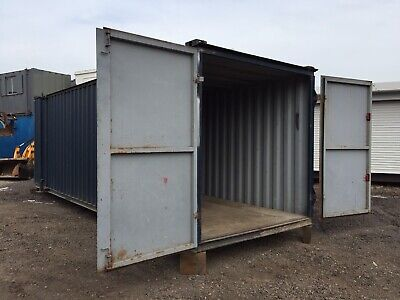 Site Store 24ft Steel Storage Container Portable