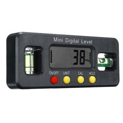 Electronic Angle Finder Spirit Level Digital Meter 4x90° LCD Inclinometer 1pc