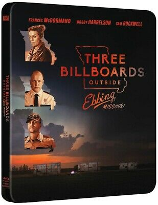 Blu-ray steelbook Three Billboards Outside Ebbing Missouri Neuf avec VF
