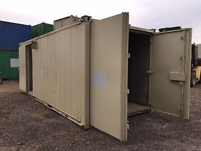 Site Office Cabin Storage Container Anti Vandal Steel Store Portable